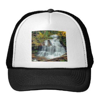 Waterfall Wagner Alger County Michigan Cap
