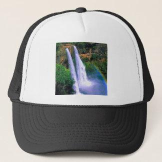 Waterfall Wailua Kauai Hawaii Trucker Hat