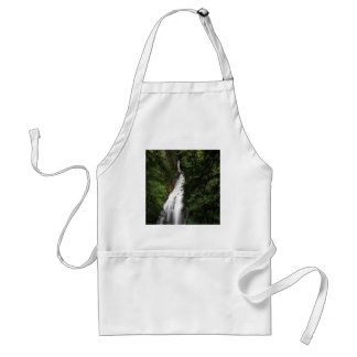 Waterfall White Flowing Torrent Adult Apron