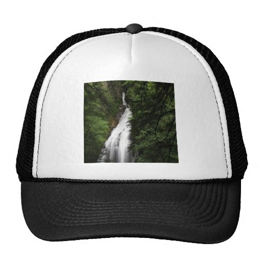 Waterfall White Flowing Torrent Hat