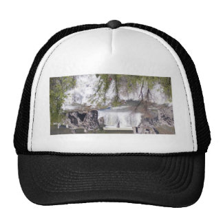 Waterfall with Branches Cap