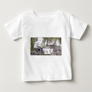 Waterfall with Branches Tshirts