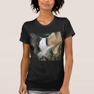 Waterfall Yellowstone Park Wyoming Shirt