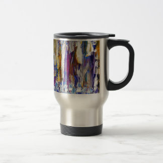 Waterfalls and Ice Cubes Stainless Steel Travel Mug