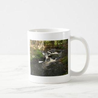 waterfalls basic white mug