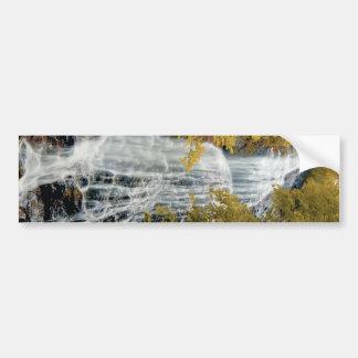Waterfalls Great Smokey Mountain NP _DSC0689 Car Bumper Sticker