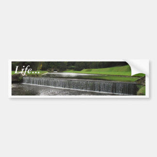 Waterfalls In Fountains Abbey Bumper Stickers