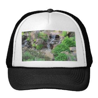 Waterfalls Nature Scene Photo Trucker Hat