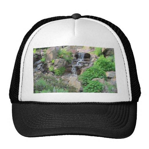 Waterfalls Nature Scene Photo Hat