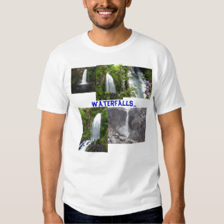 Waterfalls of the Pacific Northwest tshirt