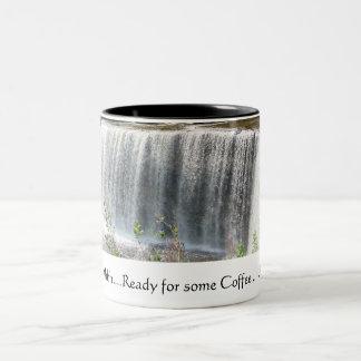 Waterfalls Two-Tone Coffee Mug