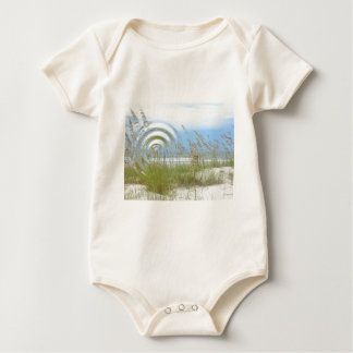 Waterfront view baby bodysuit