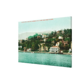 Waterfront View of San Francisco Yacht Club Canvas Print