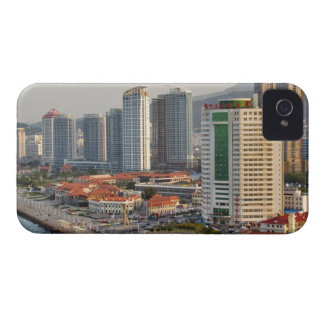 Waterfront with Yantai city skyline, Shandong Case-Mate iPhone 4 Cases