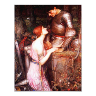 Waterhouse Lamia and the Soldier Invitations