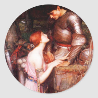 Waterhouse Lamia and the Soldier Stickers
