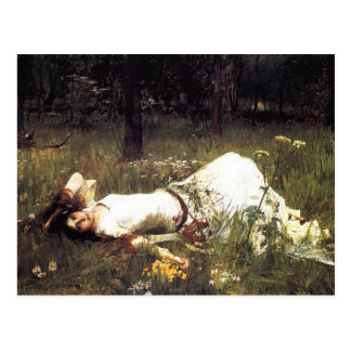 Waterhouse Ophelia Postcard