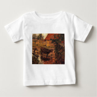 Watering place by Paul Gauguin Baby T-Shirt