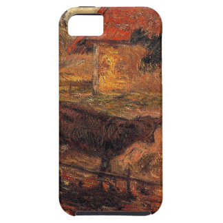 Watering place by Paul Gauguin iPhone 5 Covers