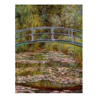 Waterlily Pond postcard