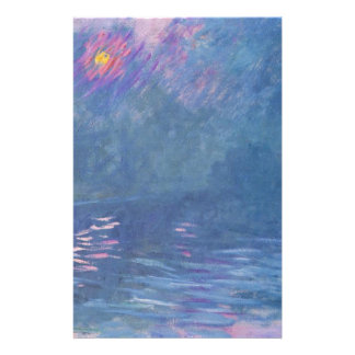 Waterloo Bridge by Claude Monet Stationery
