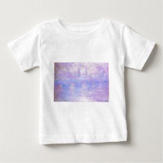 Waterloo Bridge, Fog by Claude Monet Baby T-Shirt