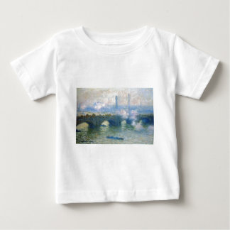 Waterloo Bridge, London by Claude Monet Baby T-Shirt