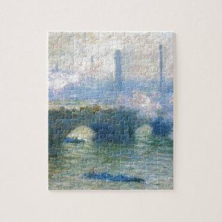 Waterloo Bridge, London by Claude Monet Jigsaw Puzzle