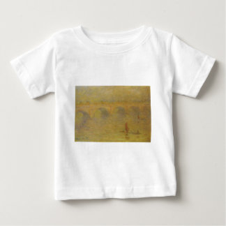 Waterloo Bridge, Sunlight Effect by Claude Monet Baby T-Shirt