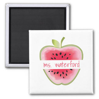 Watermelon Apple Personalised Teacher Magnet