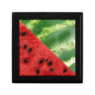Watermelon Design Small Square Gift Box