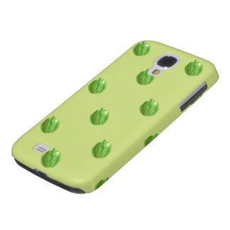 watermelon green pattern HTC vivid tough Galaxy S4 Case