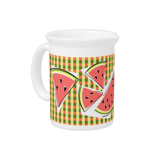 Watermelon Line Check pitcher