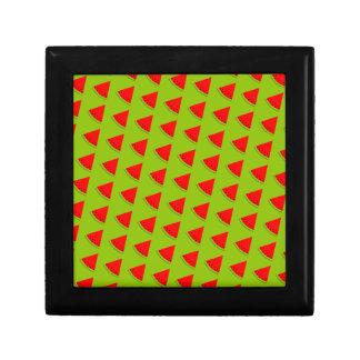 Watermelon pattern gift box