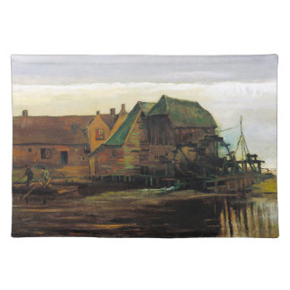 Watermill at Gennep by Vincent Van Gogh Placemat