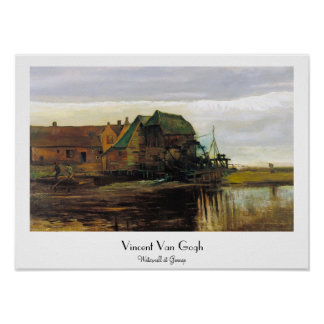 Watermill at Gennep by Vincent Van Gogh Poster