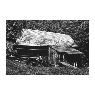 Watermill Canvas Prints