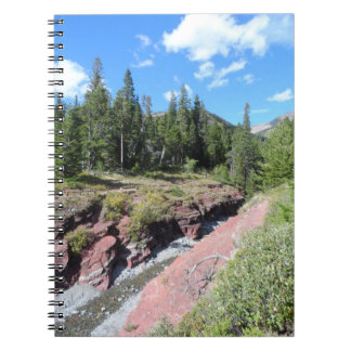 Waterton Lakes National Park Spiral Notebook