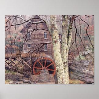 Waterwheel Print