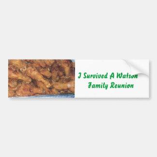 Watson Family Bumper Sticker