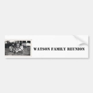Watson Family Reunion Bumper Sticker