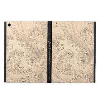 Wave Katsushika Hokusai  vintage waterscape art iPad Air Case