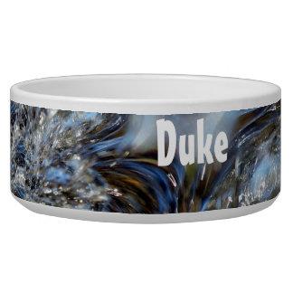 Wave Personalized Pet Bowl