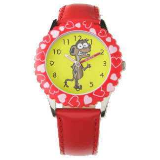 Waving Monkey Watch