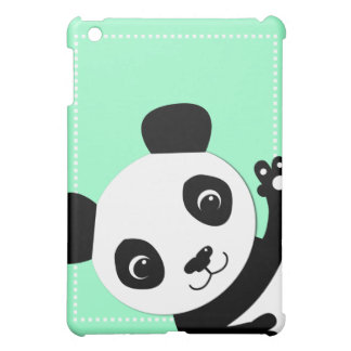 Waving Panda iPad Mini Case