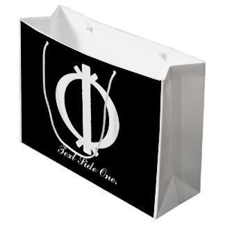 Wawa Aba | Adinkra Symbol of Toughness Large Gift Bag