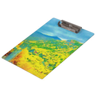 Way Above the Mountains Air Brushed Clipboards