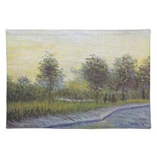 Way in the Voyer d'Argenson Park - Van Gogh (1887) Placemat