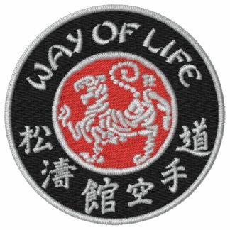Way Of Life Shotokan Ladies Dark Logo Embr. Hoodie
