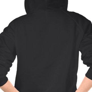 WaywardVerse Black Sweatshirt (White/Orange)